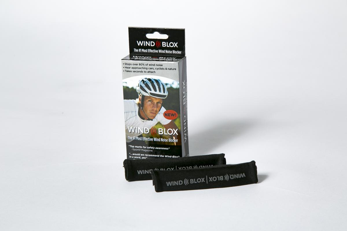 Wind-Blox Pro Packaging Helmet Mounted Wind Noise Block